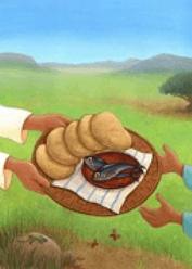 """Das Erstkommunion-Motiv 2015  """"Wer teilt, gewinnt"""""""