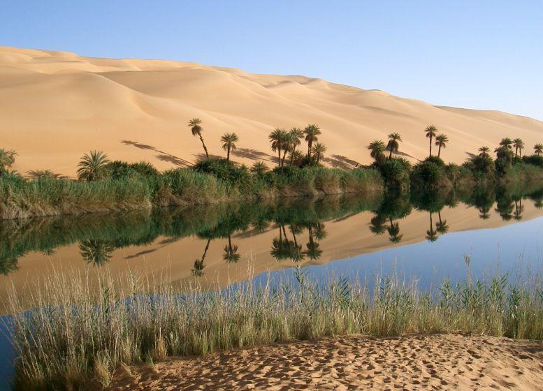 Foto: Oase Ubari/Libyen cc_Sfiva/'wikimedia.com