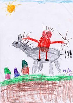 Mia, 4 Jahre, Kita St. Rochus