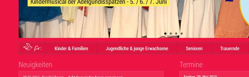 Neue Homepage der Pfarrei Heilig Geist Jülich ist online