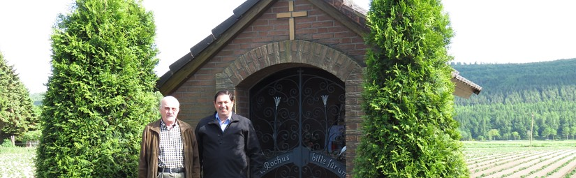 Frühjahrsputz in der Rochuskapelle Güsten