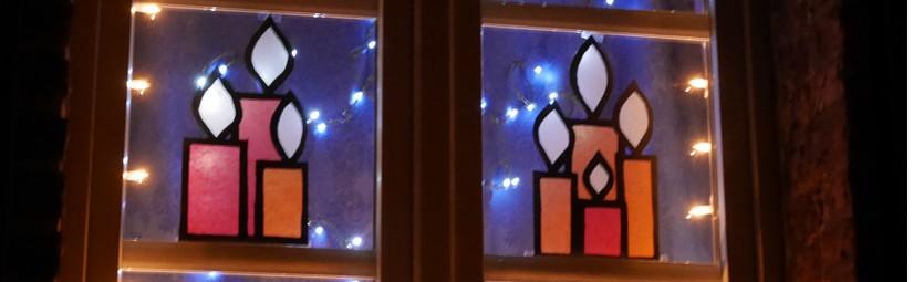 Adventsfenster-Aktion