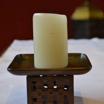 Kerzenständer, St. Hubertus, Welldorf;