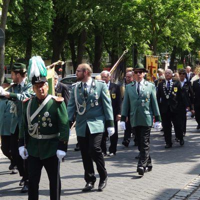 Fronleichnam in der Innenstadt Foto: Wolfgang Biel