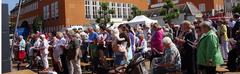 open air – Messe zum Stadtfest
