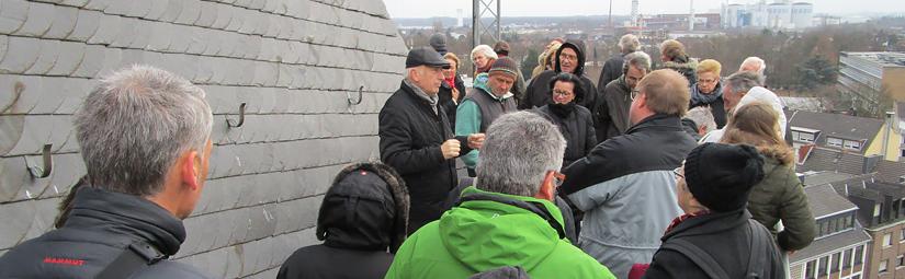 Propsteiturm(gerüst)-Führungen am 22. Januar und 5. Februar