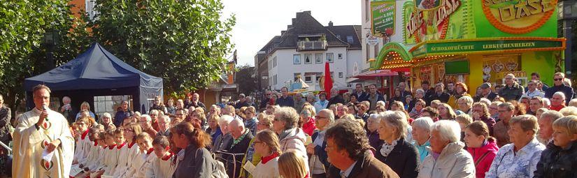 Ökumenischer Gottesdienst zum Stadtfest