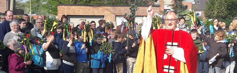 Familienmesse an Palmsonntag