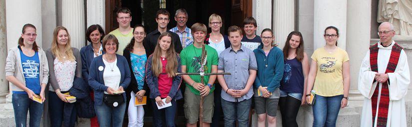 Jugendwallfahrt 14. – 18. Juli 2017