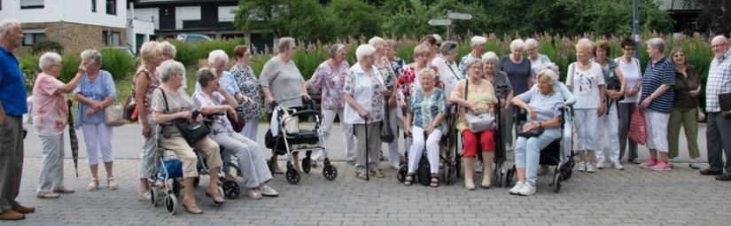Mit SeniorInnen in die schöne Eifel