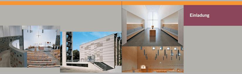 Ausstellung Kirchengebäude und ihre Zukunft