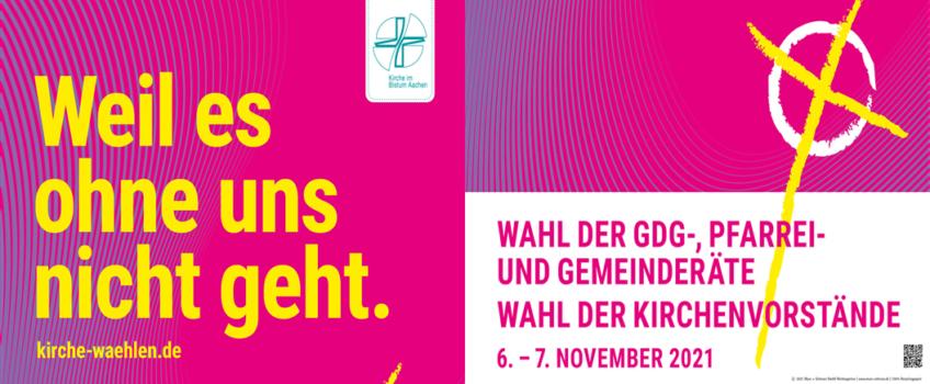 Wahlen am 6./7. November 2021 zu Gemeinderäten, GdG-Rat und Kirchenvorstand